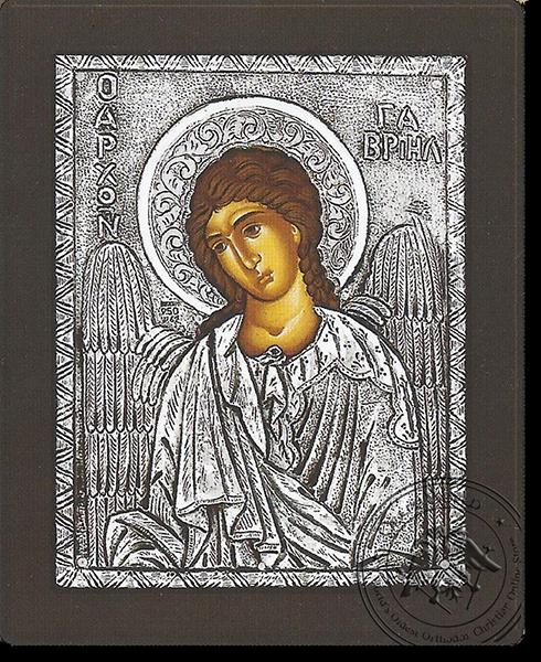 Gabriel Archangel - Silver Icon