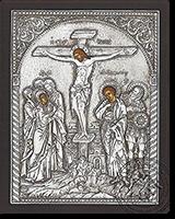 Crusifiction - Silver Icon