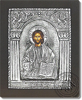 Christ Kolonaki - Silver Icon
