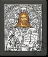 Christ Pantocrator - Silver Icon