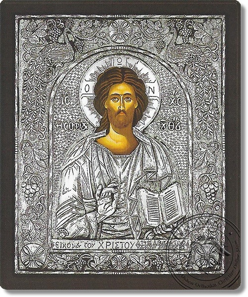 Christ - Silver Icon