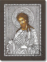 John the Baptist - Silver Icon