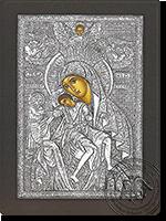 Panagia Eleousa - Silver Icon