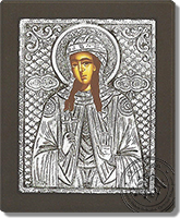 Saint Fotini - Silver Icon