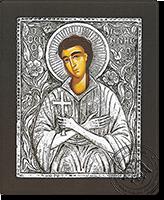 Saint John of Russia - Silver Icon