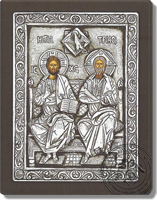 The Holy Trinity - Silver Icon