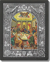 Last Supper - Silver Icon