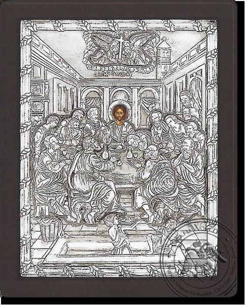 Last Supper - Silver Icon