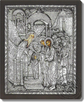 The Presentation of the Virgin in the Temple - Silver Icon