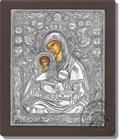 Panagia Angels - Silver Icon