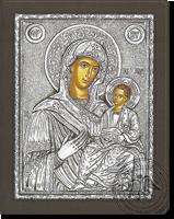 Panagia Amolintos - Silver Icon