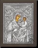 Panagia Gorgoepikoos - Silver Icon
