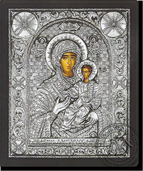 Panagia Hodegetria - Silver Icon
