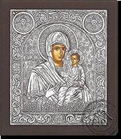 Panagia Myrtidiotissa - Silver Icon