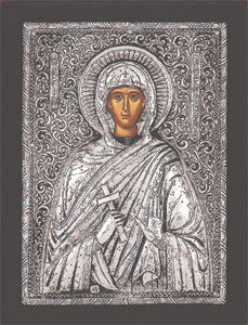 Paraskevi - Silver Icon