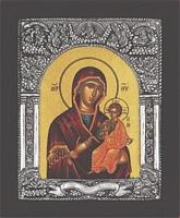 Panagia Amolintos Byzantine - Silver Icon
