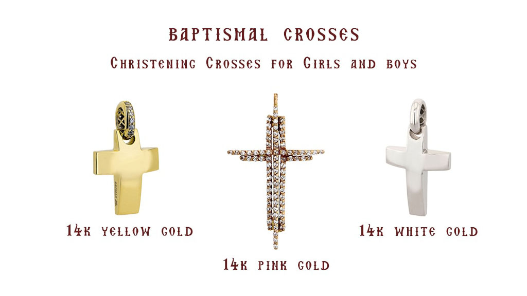 Baptismal Crosses - Brand New Collection
