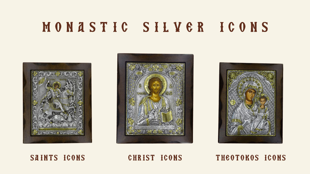 Monastic Silver Icons - Brand New Collection