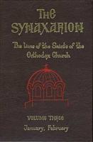 The Synaxarion - Volume Three