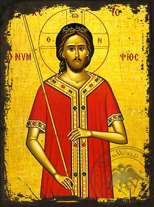 The Bridegroom - Aged Byzantine Icon
