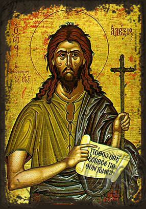 Saint Alexius, the Man of God, in Rome - Aged Byzantine Icon