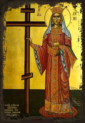 Saint Helen, Full Body - Aged Byzantine Icon