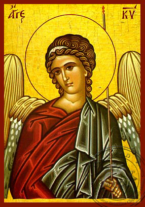 Angel of the Lord - Hand Painted Icon