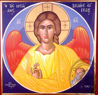 Angel of Great Counsel - Hand-Painted Icon