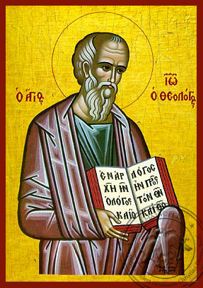 Apostle and Evangelist Saint John the Theologian - Hand Painted Icon