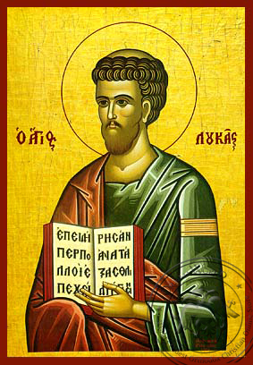Luke the Apostle and Evangelist - Hand-Painted Icon