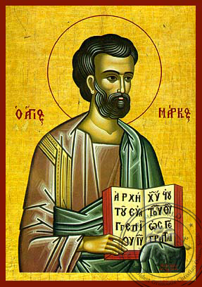 Mark the Apostle and Evangelist - Hand-Painted Icon