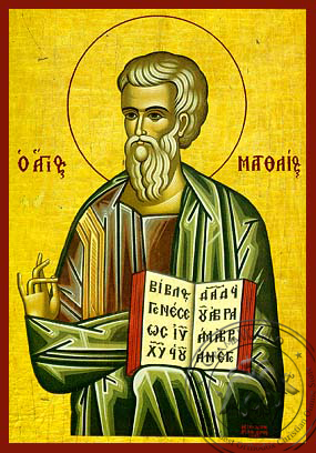 Matthew the Apostle and Evangelist - Hand-Painted Icon