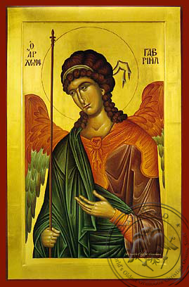 Archangel Gabriel - Hand Painted Icon