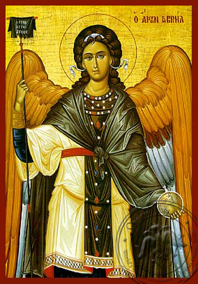 Gabriel Archangel - Hand-Painted Icon