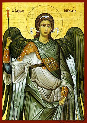 Michael Archangel - Hand-Painted Icon