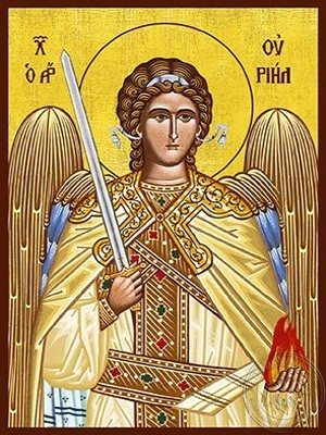 Archangel Uriel - Hand Painted Icon