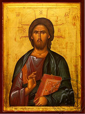 Christ Blessing - Hand Painted Icon