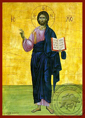 Christ Blessing, Full Body - Hand Painted Icon