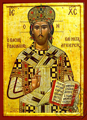Christ Blessing, King of Kings and Great High Priest - Hand Painted Icon