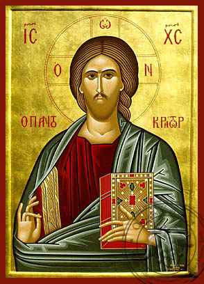 The Pantokrator - Hand-Painted Icon