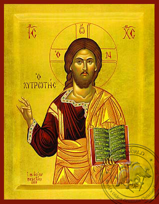 The Redeemer - Hand-Painted Icon