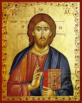 Christ Blessing, the Saviour - Hand Painted Icon