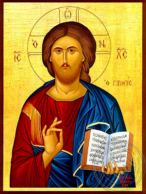 Christ Blessing, the Sweet - Hand Painted Icon