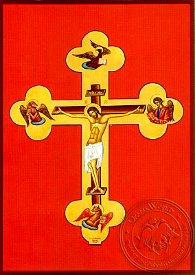 Christ Crucified - Hand Painted Icon