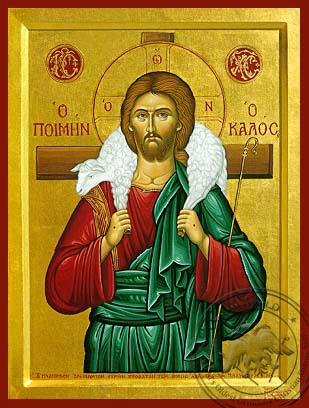 The Good Shepherd - Hand-Painted Icon