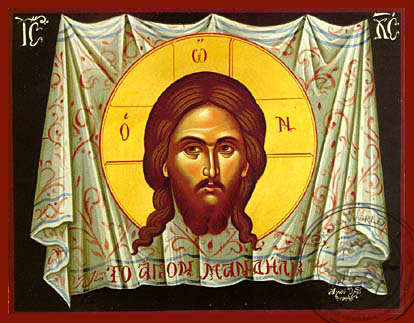 The Holy Napkin - Hand-Painted Icon