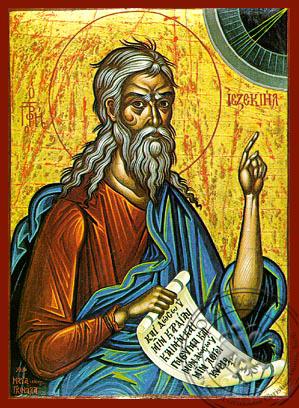 Ezekiel the Prophet - Hand-Painted Icon