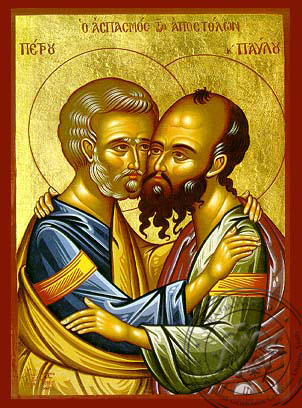 Peter and Paul the Apostles - Hand-Painted Icon