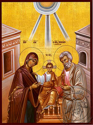 Holy Family - Hand Painted Icon