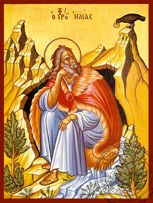 Elijah the Prophet - Hand-Painted Icon